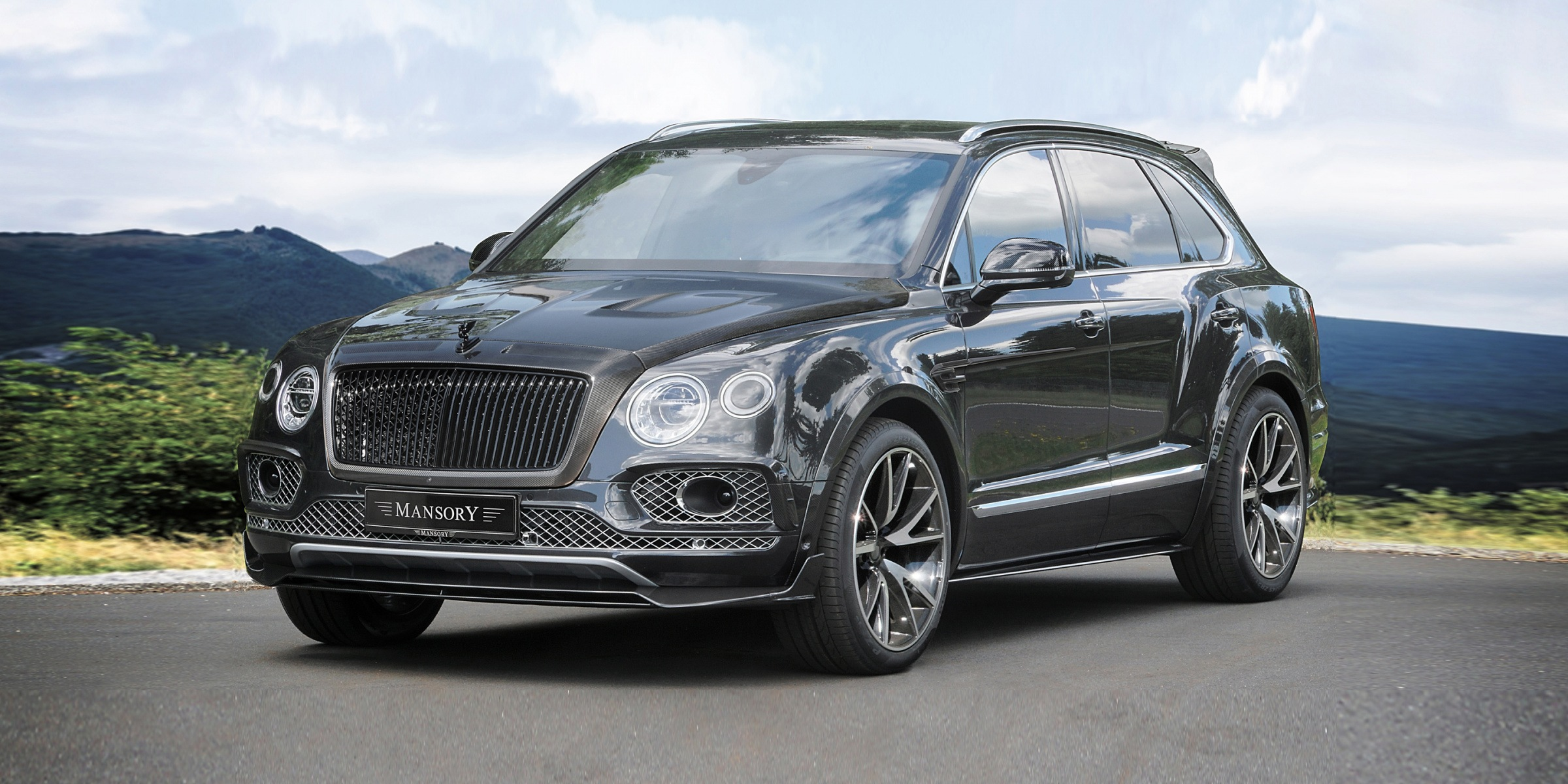 Bentayga Soft Kit Mansory