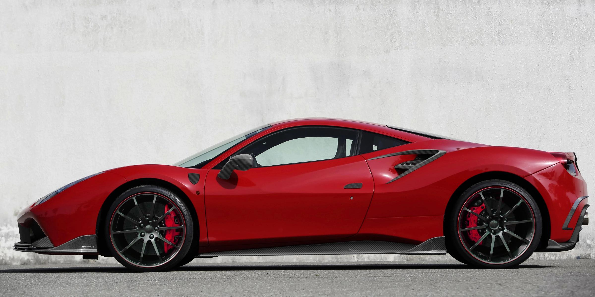 Ferrari 488 Soft Kit Mansory