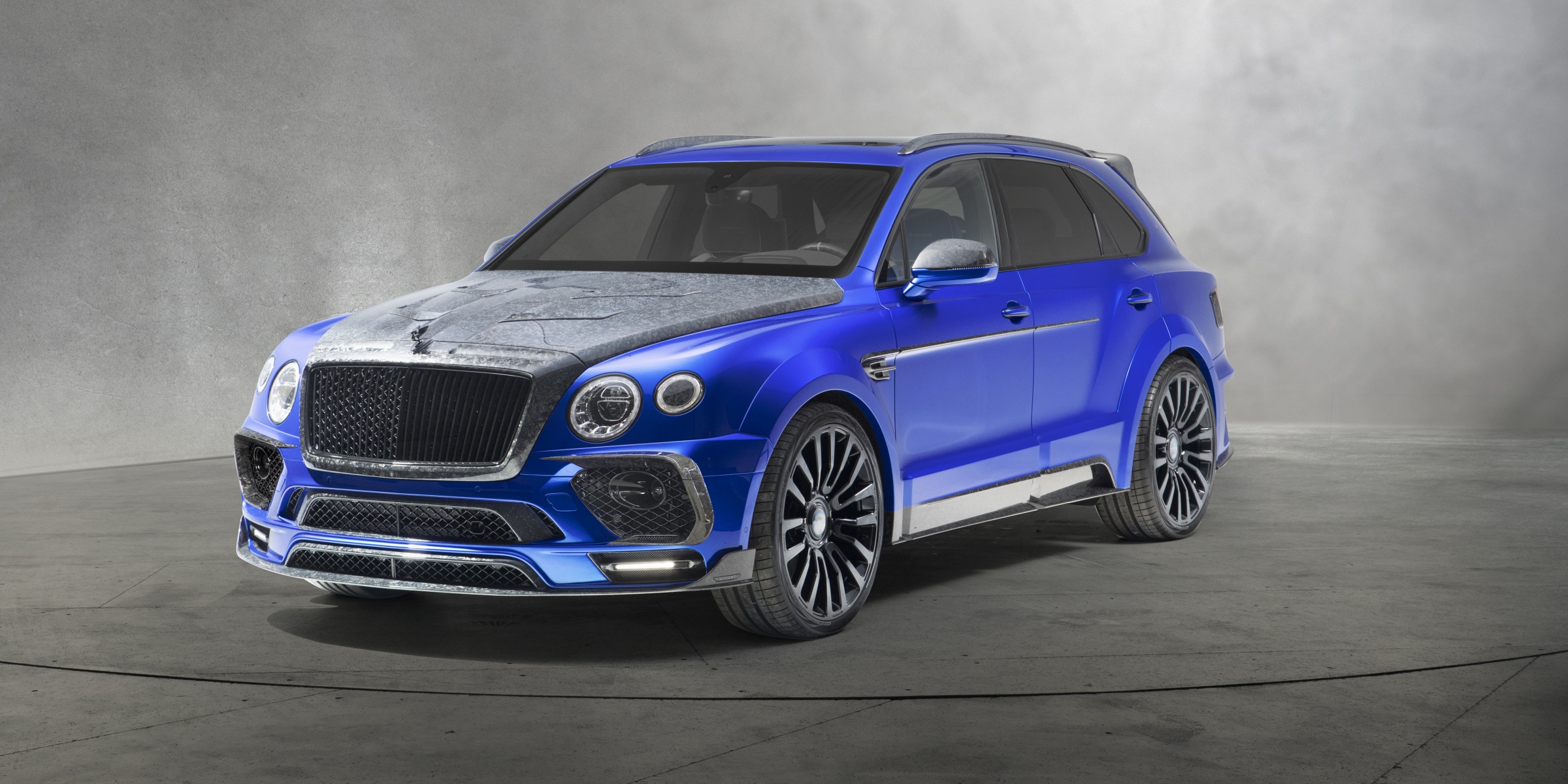 Bentayga Wide Body Mansory