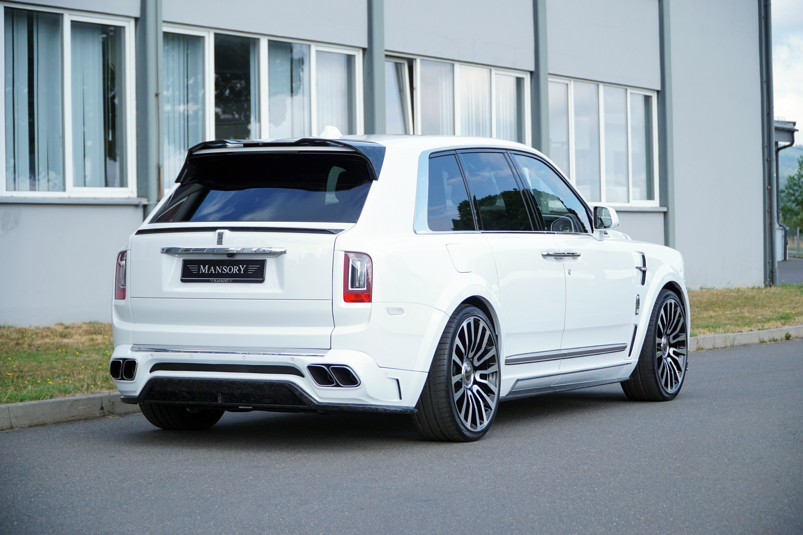 New Rolls Royce >> Cullinan - Wide body | Mansory