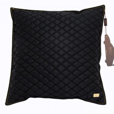 mansory stitched pillow gold
