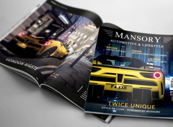 mansory automotive & lifestyle no. 11