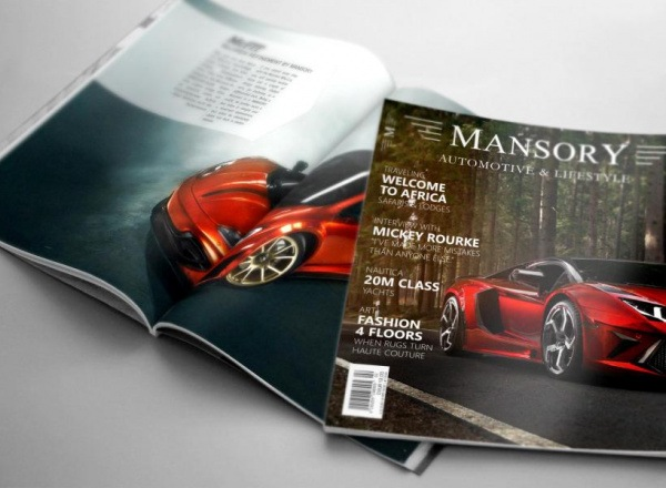 mansory automotive & lifestyle no. 3