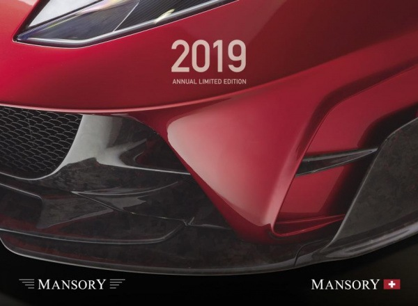 the mansory 2019 calendar annual limited edition