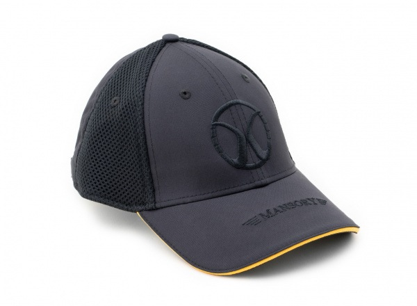 Baseballcap mesh Black / Yellow