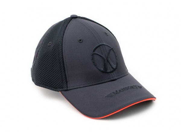 Baseballcap mesh Black / Red