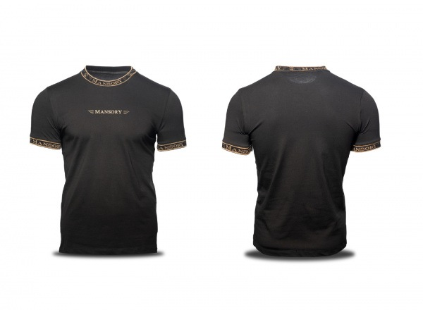 MANSORY T-shirt Black / Gold