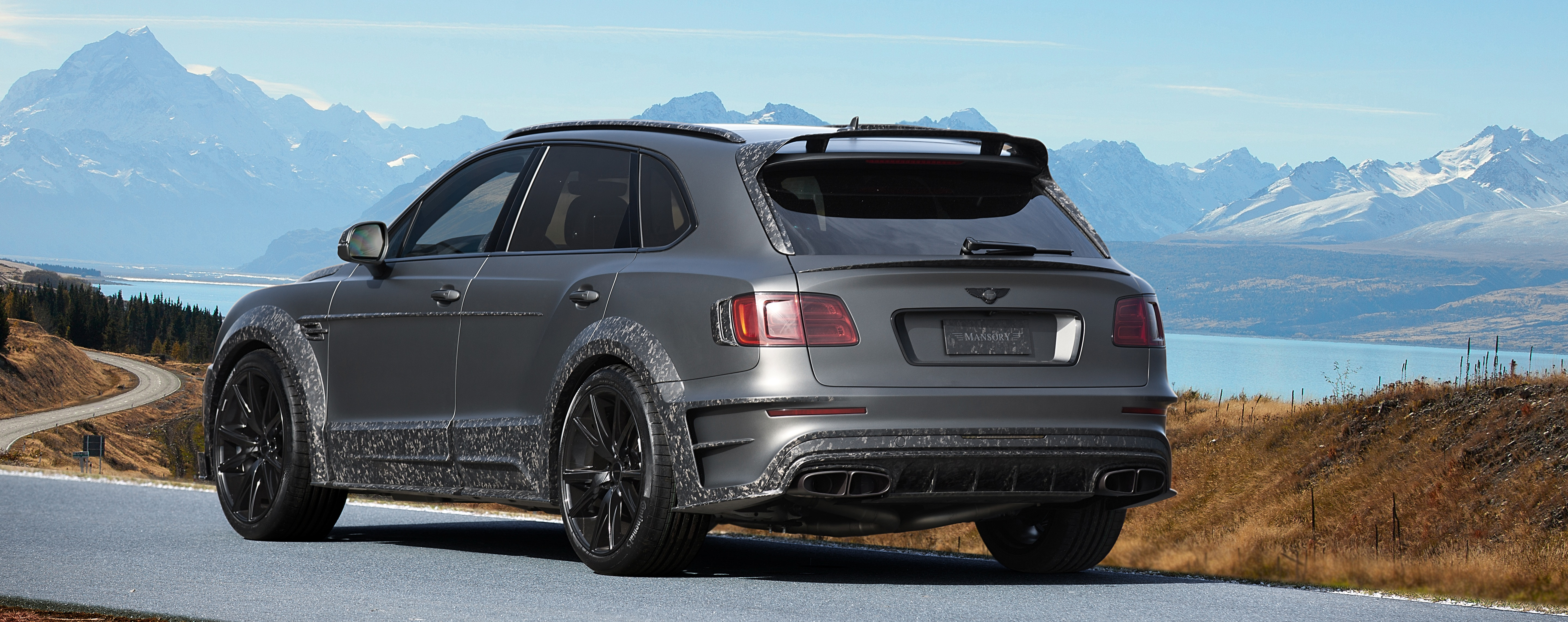 Bentayga Black Edition Mansory