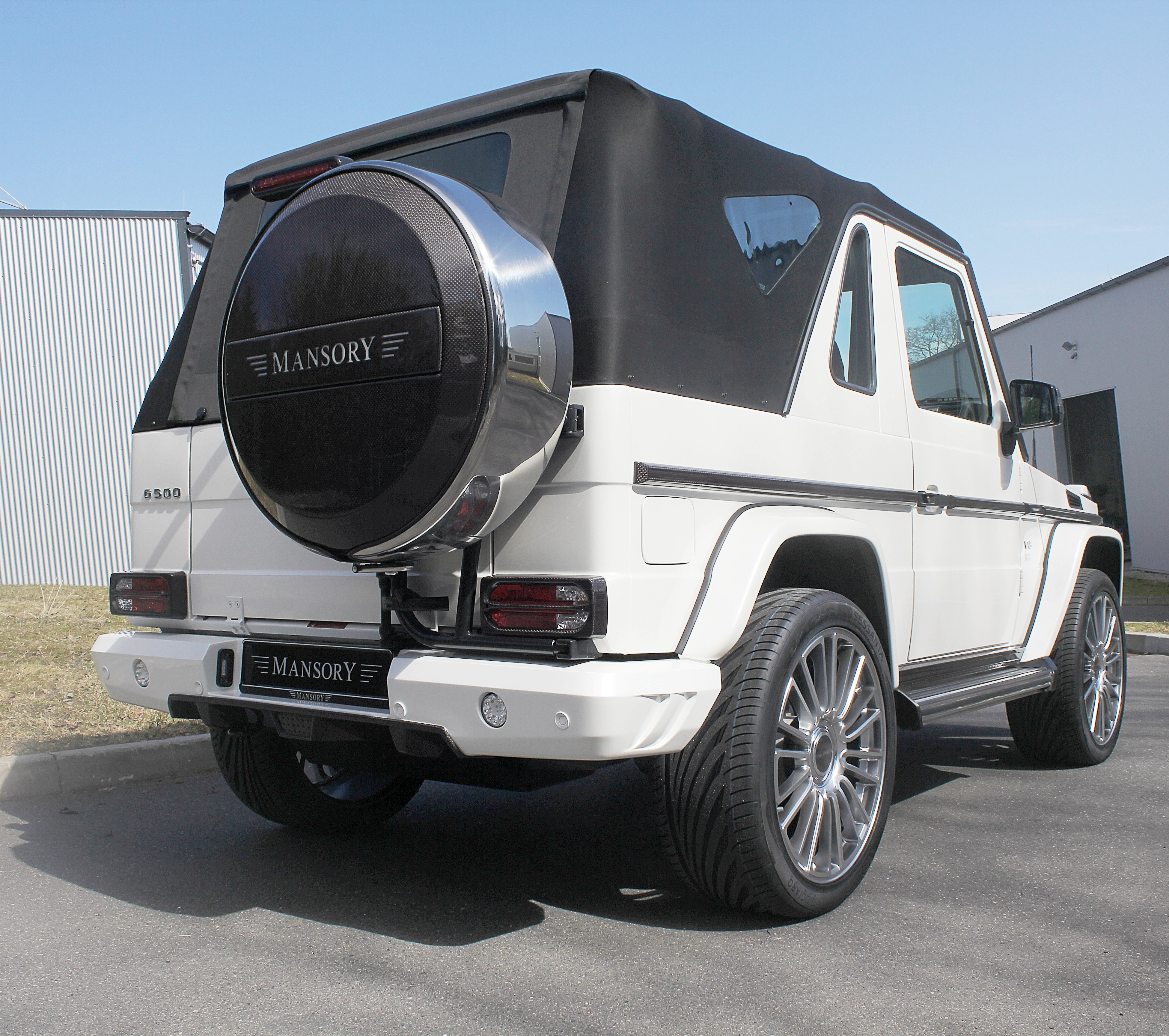Soft Kit For G Class Cabrio Mansory