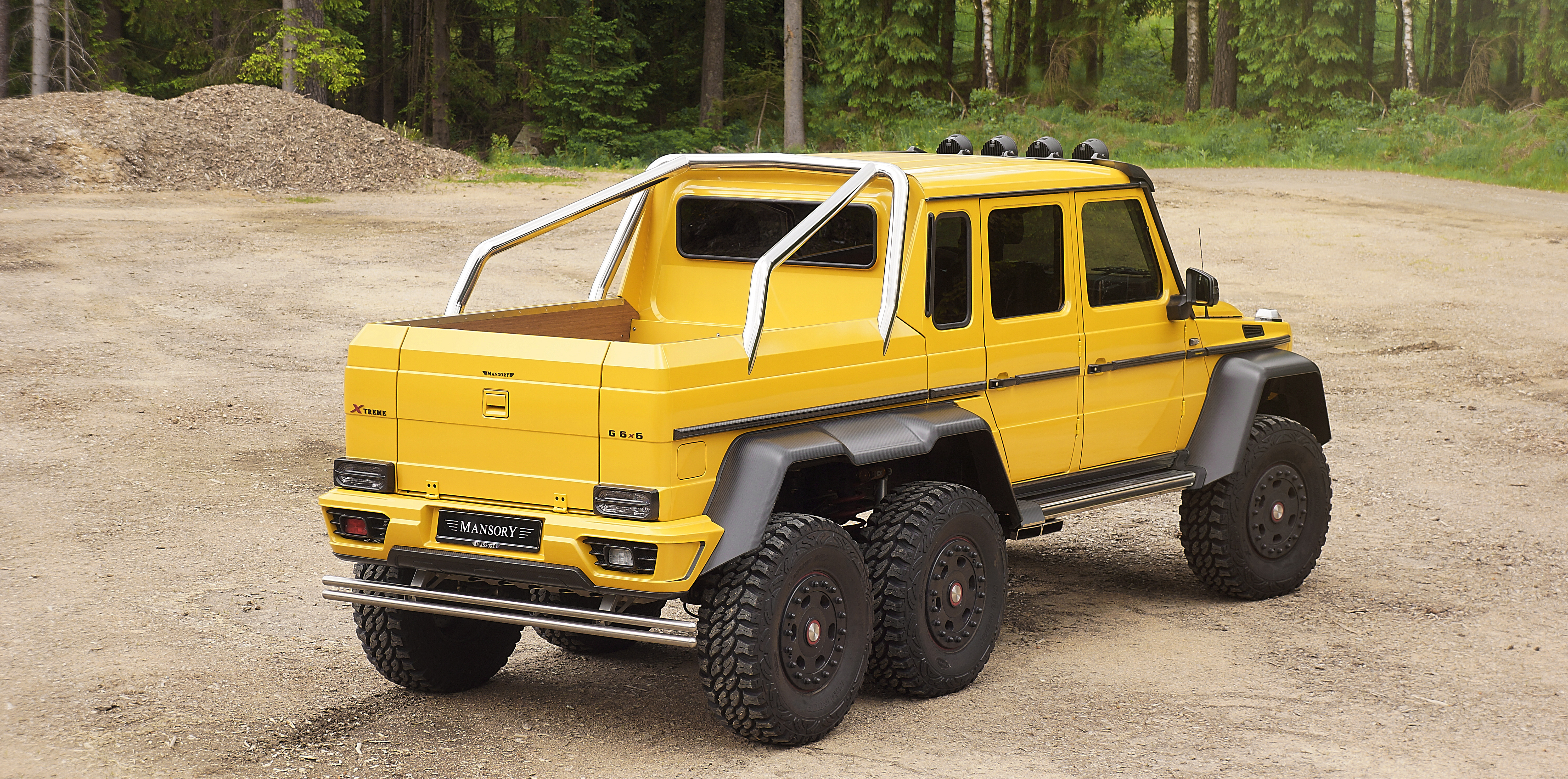 Mercedes 6X6 For Sale >> Gronos 6x6 Mansory