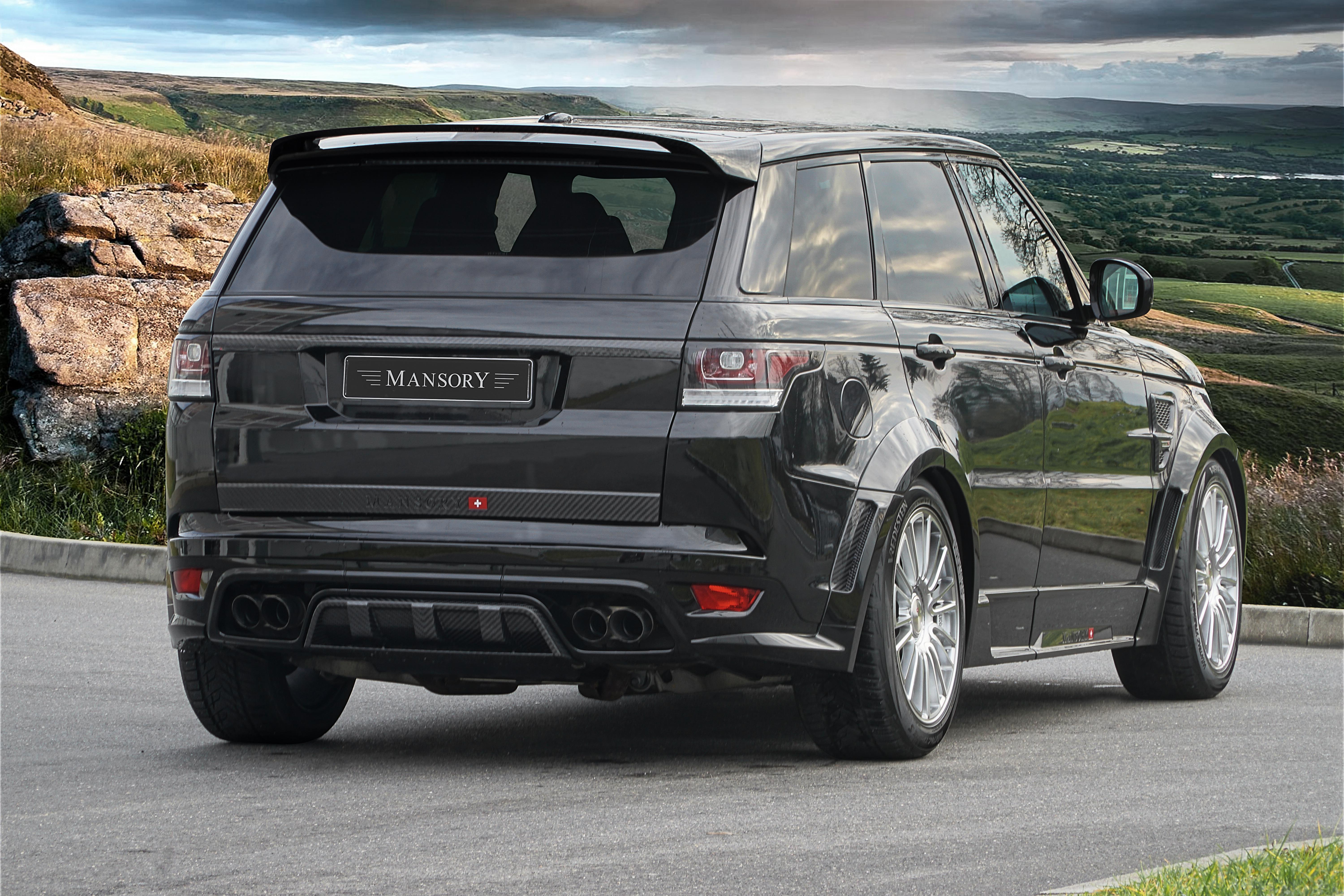 Range Rover Svr Price >> Range Rover Sport Svr Mansory