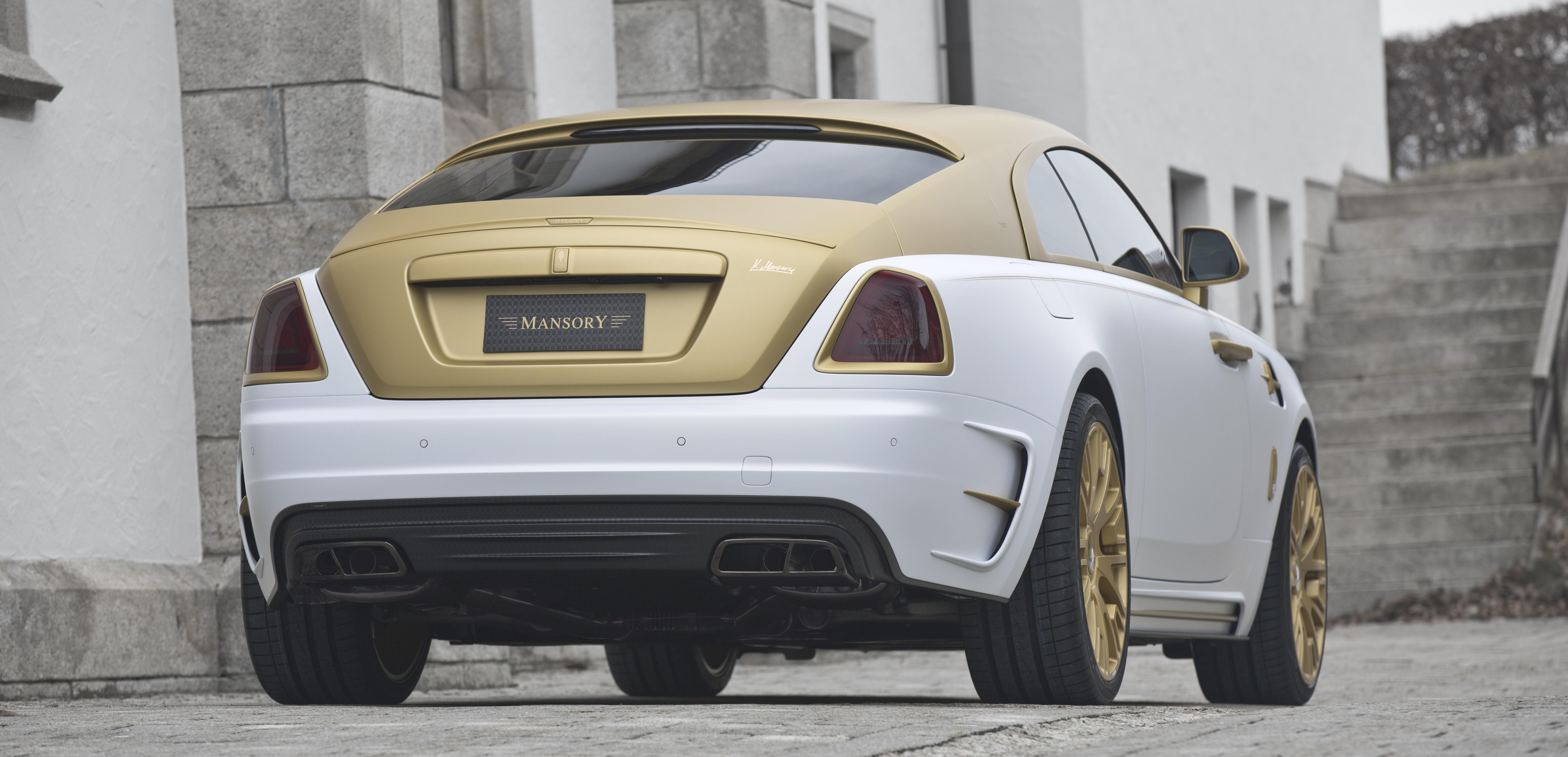 Gold Rolls Royce >> Wraith Ii Mansory