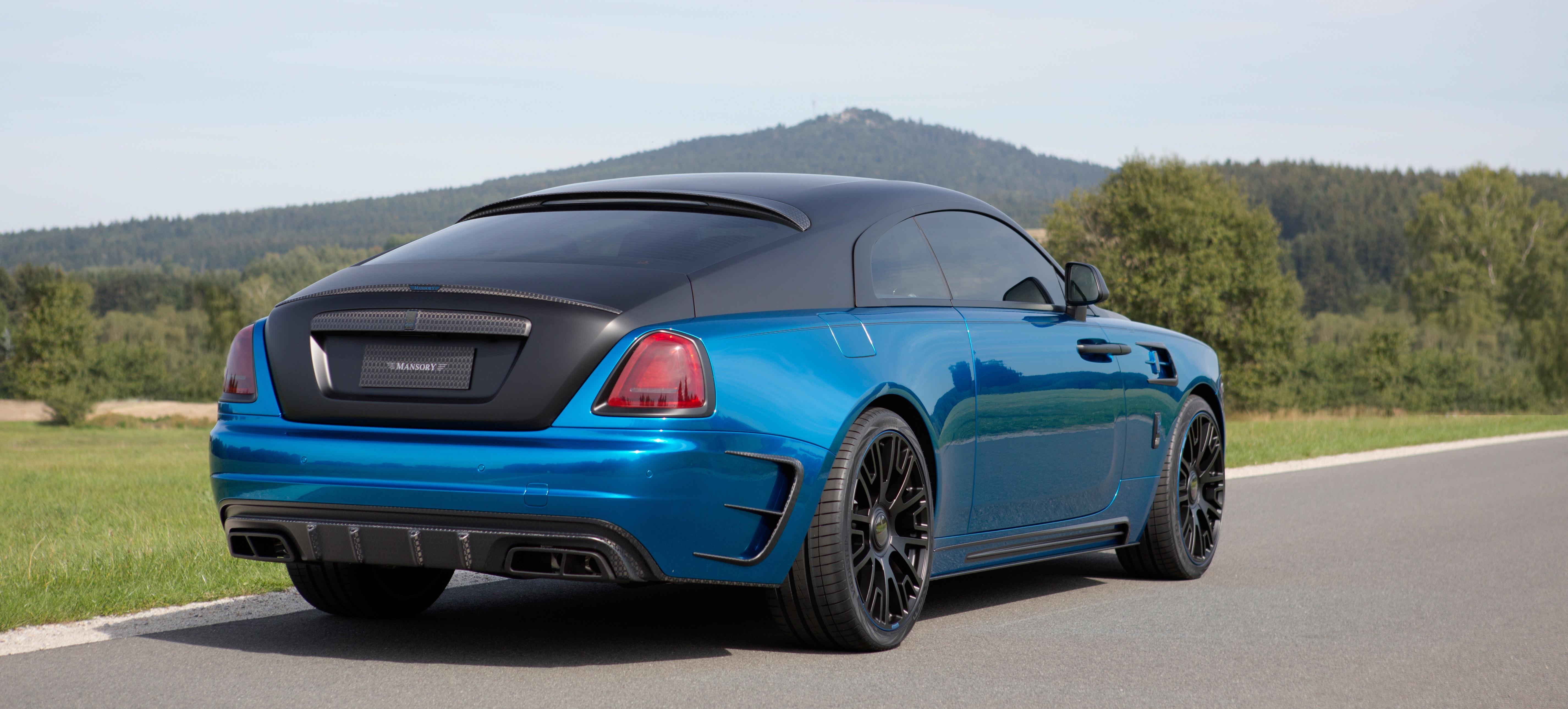 The Wraith Car >> Wraith Bleurion Mansory